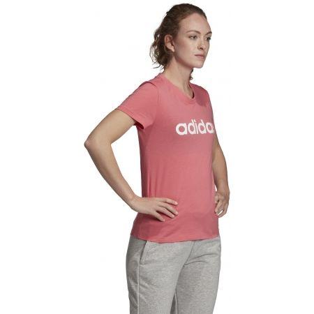 Dámske tričko - adidas ESSENTIALS LINEAR SLIM TEE - 5