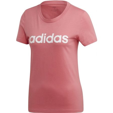 Dámske tričko - adidas ESSENTIALS LINEAR SLIM TEE - 1