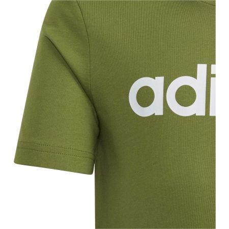 Chlapčenské tričko - adidas ESSENTIALS LINEAR T-SHIRT - 3