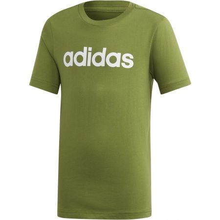 Chlapčenské tričko - adidas ESSENTIALS LINEAR T-SHIRT - 1