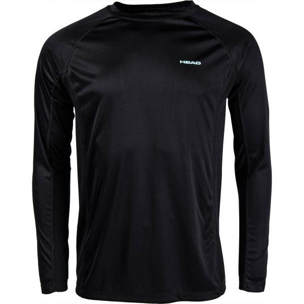 Head VARGAS čierna XXL - Pánske tričko s dlhým rukávom