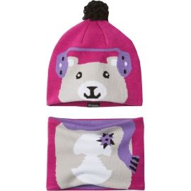 Columbia YOUTH SNOW MORE HAT ANDGAITER SET - Set căciulă și fular copii