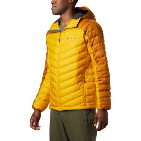 Pánska zateplená bunda - Columbia HORIZON EXPLORER HOODED JACKET - 1