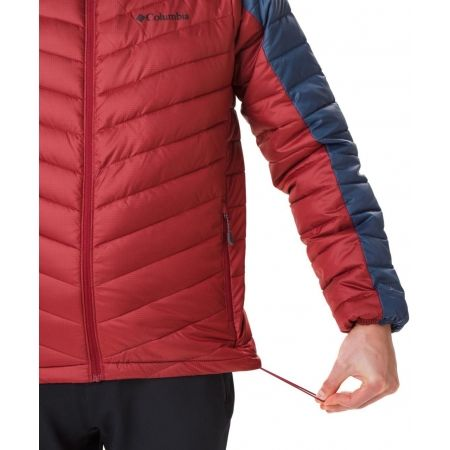 Pánská zateplená bunda - Columbia HORIZON EXPLORER HOODED JACKET - 10