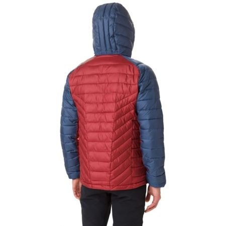 Pánská zateplená bunda - Columbia HORIZON EXPLORER HOODED JACKET - 5