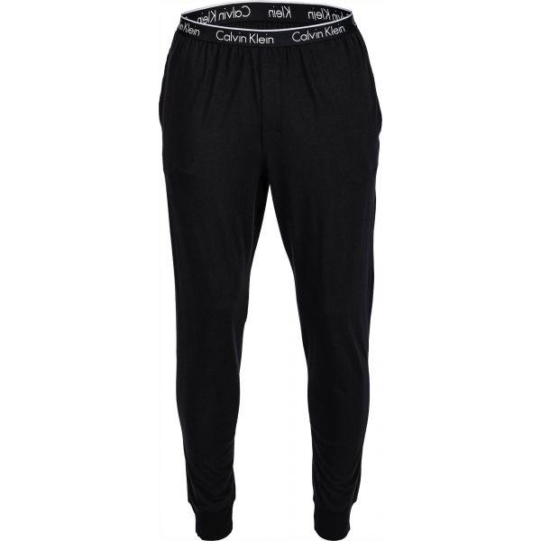 Calvin Klein PANT CUFFED černá S - Pánské tepláky