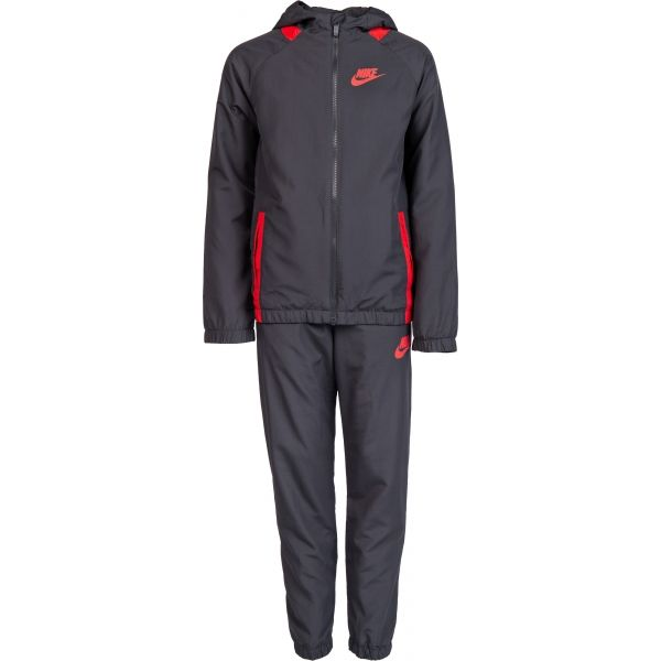 Nike NSW TRK SUIT WINGER W šedá M - Chlapčenská  súprava