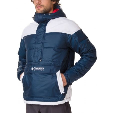 Pánska zimná bunda - Columbia LODGE PULLOVER JACKET - 4