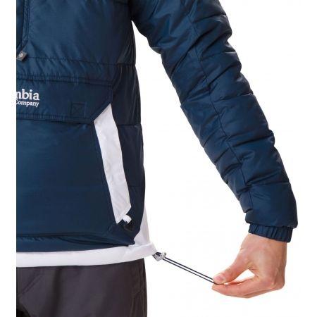 Pánska zimná bunda - Columbia LODGE PULLOVER JACKET - 8