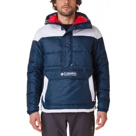 Pánska zimná bunda - Columbia LODGE PULLOVER JACKET - 5