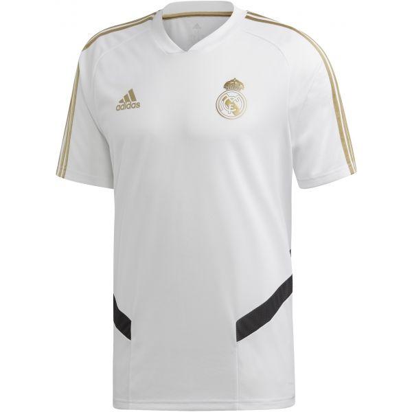 adidas REAL TR JSY biały M - Koszulka piłkarska męska