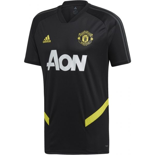 adidas MUFC TR JSY czarny S - Koszulka piłkarska męska