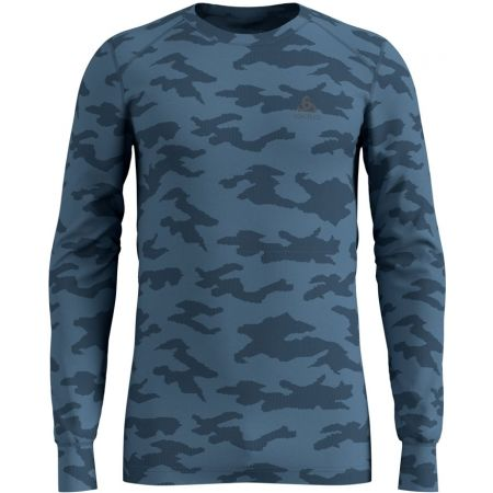 Odlo SUW MEN'S TOP L/S CREW NECK ACTIVE WARM XMAS - Pánske tričko