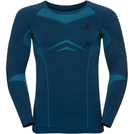 Odlo SUW MEN'S TOP L/S CREW NECK PERFORMANCE EVOLUTION WARM - Pánske tričko