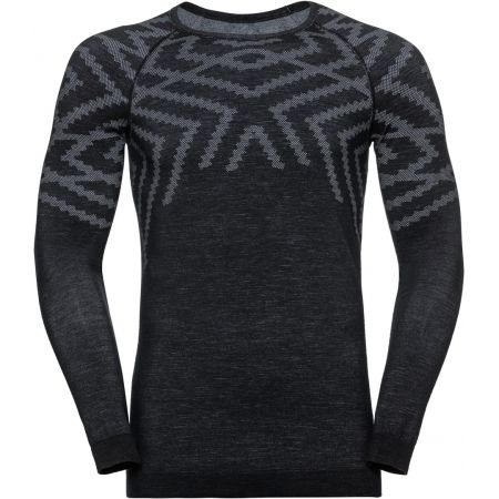 Pánske tričko - Odlo SUW MEN'S TOP L/S CREW NECK NATURAL+ KINSHIP WARM - 1