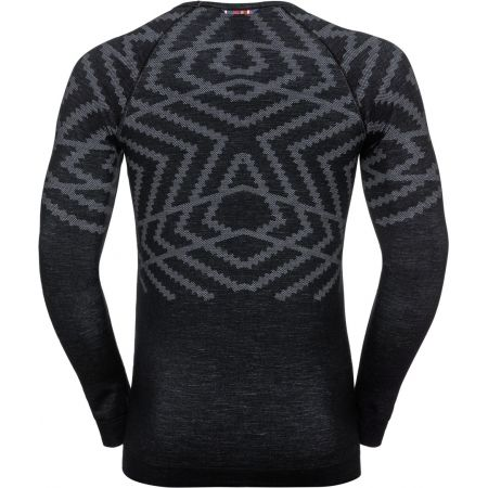 Pánske tričko - Odlo SUW MEN'S TOP L/S CREW NECK NATURAL+ KINSHIP WARM - 2
