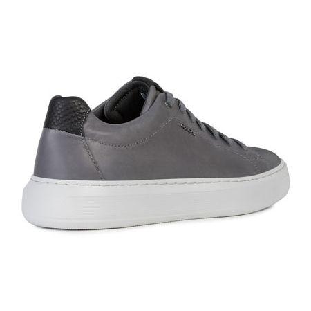 Geox Mens Deiven B Leather Sneaker Sneakers