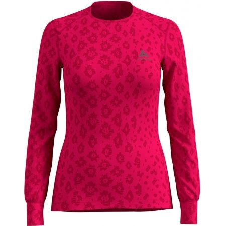 Dámské triko - Odlo SUW WOMEN'S TOP L/S CREW NECK ACTIVE WARM X-MAS - 1