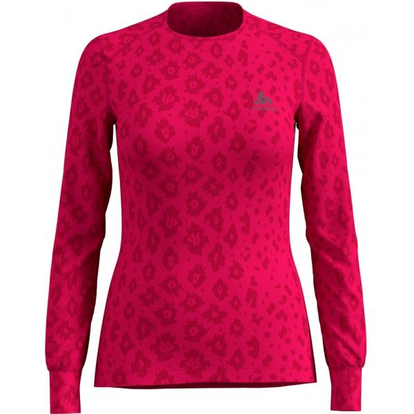 Odlo SHIRT L/S X-MAS ACTIVE LADIES WARM růžová L - Dámské triko