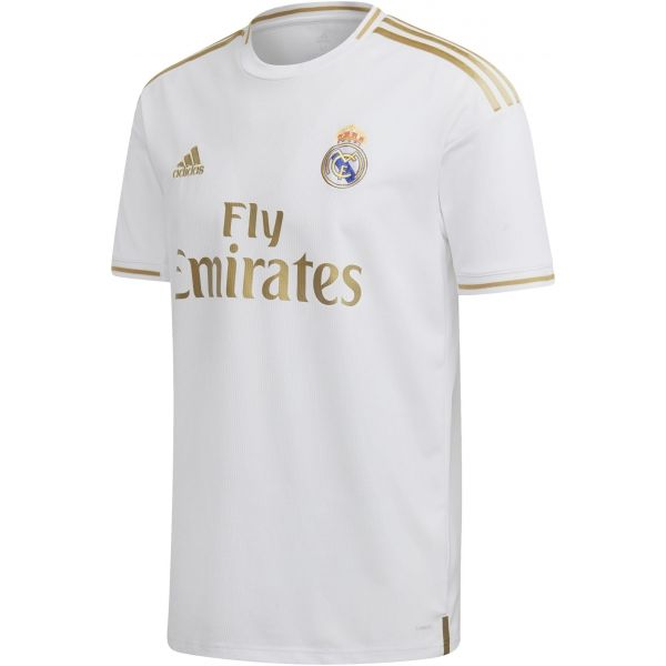 adidas REAL H JSY bílá XL - Fotbalový dres
