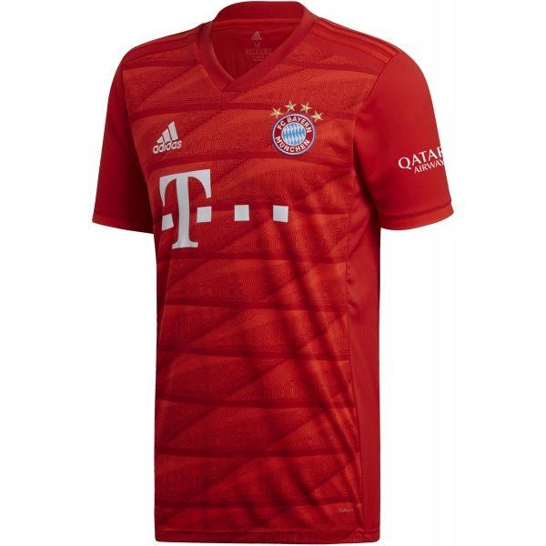 adidas FCB H JSY czerwony L - Koszulka piłkarska