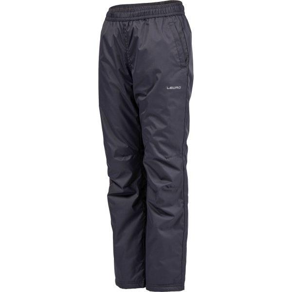 Lewro NAVEA szary 164-170 - Spodnie ocieplane dziecięce