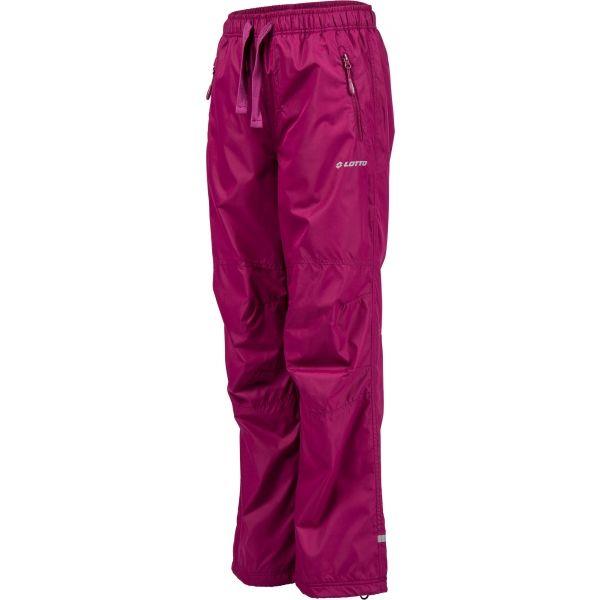 Lotto ADA różowy 116-122 - Spodnie ocieplane dziecięce