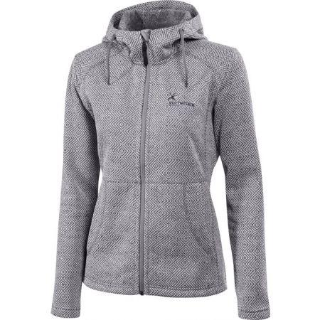 Dámsky outdoorový sveter s kapucňou - Klimatex LENDA - 1