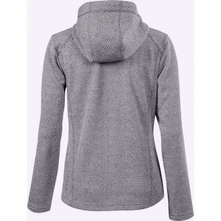 Dámsky outdoorový sveter s kapucňou - Klimatex LENDA - 2