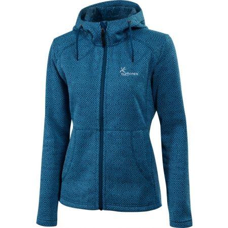 Women's hooded outdoor sweater - Klimatex LENDA - 1