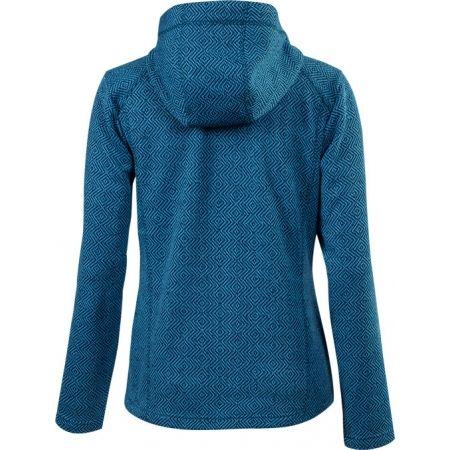 Women's hooded outdoor sweater - Klimatex LENDA - 2