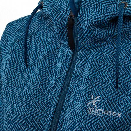 Women's hooded outdoor sweater - Klimatex LENDA - 3
