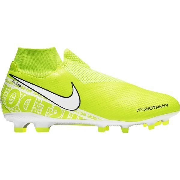 Nike PHANTOM VSN PRO DF FG světle zelená 11 - Pánské kopačky