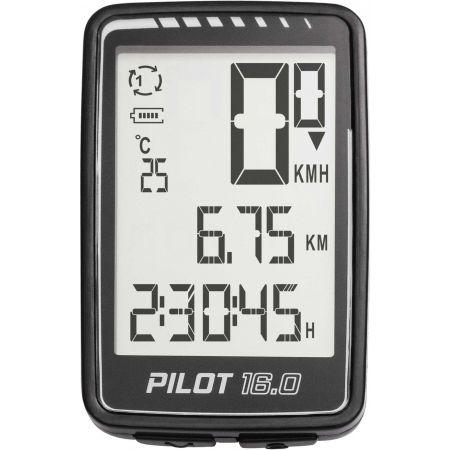 Bezdrátový cyklo computer - One PILOT 16.0 ATS - 2