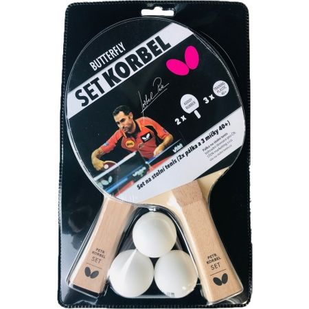 Butterfly SET KORBEL - Table tennis set