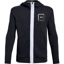 Under Armour UNSTOPPABLE DOUBLE KNIT FULL ZIP - Chlapčenská mikina