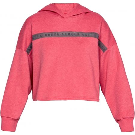 Dámská mikina - Under Armour TAPED FLEECE HOODIE - 1