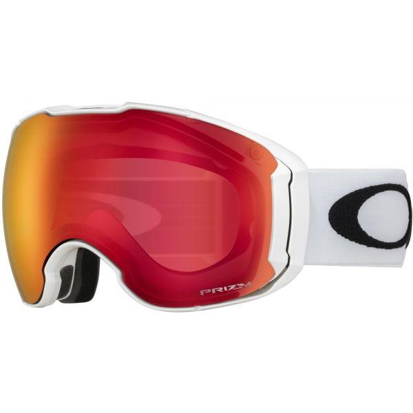 Oakley AIRBRAKE XL biela NS - Lyžiarske okuliare