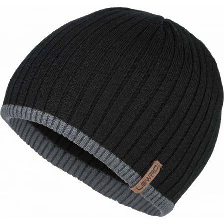 Lewro BOBYS - Chlapčenská pletená čiapka