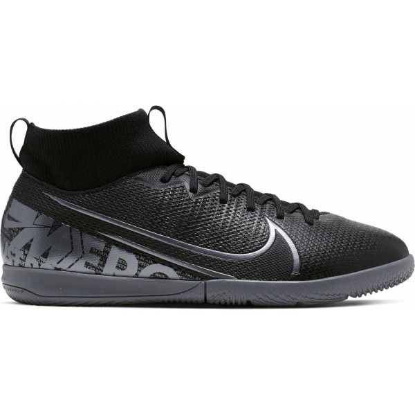 Nike JR MERCURIAL SUPERFLY 7 ACADEMY IC černá 4Y - Chlapecké sálovky