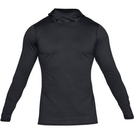 Under Armour FITTED CG HOODIE - Pánske tričko s dlhým rukávom