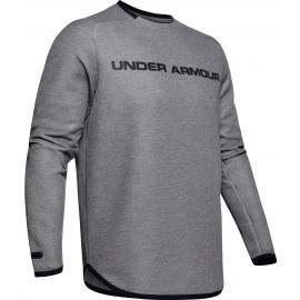 Under Armour MOVE LIGHT GRAPHIC CREW - Pánská mikina