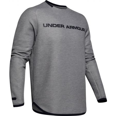 Under Armour MOVE LIGHT GRAPHIC CREW - Мъжки суитшърт
