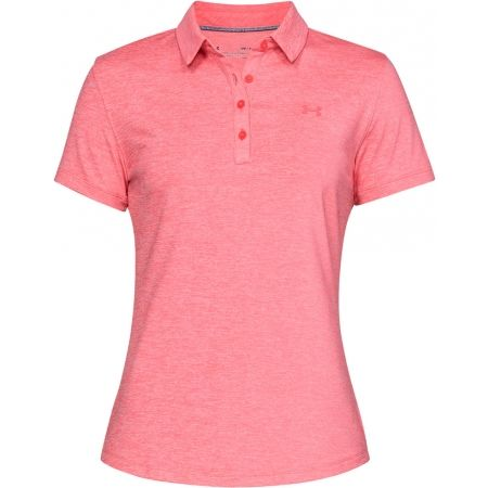 Under Armour ZINGER SHORT SLEEVE POLO - Dámske tričko