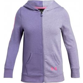 Under Armour RIVAL FULL ZIP - Hanorac de fete