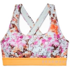 Under Armour MID CROSSBACK PRINTED BRA - Women's sports bra