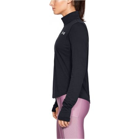 Women's T-shirt - Under Armour STREAKER 2.0 HALF ZIP - 2