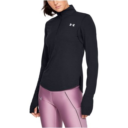 Women's T-shirt - Under Armour STREAKER 2.0 HALF ZIP - 1