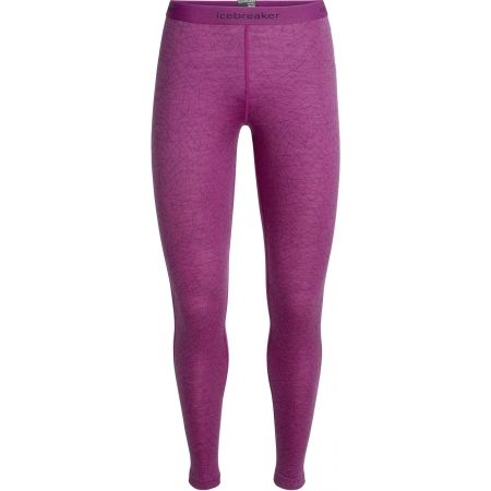 Icebreaker OASIS LEGGINS SKY PATHS - Women's Merino wool leggings