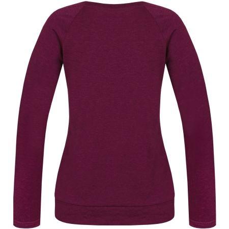 Dámské tričko - Hannah AMARANTH - 2